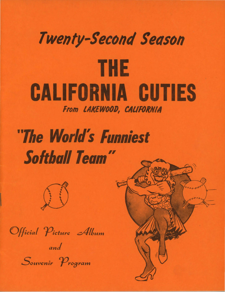 Download the full-sized PDF of The California Cuties Official Picture Album and Souvenir Program: Twenty-Second Season