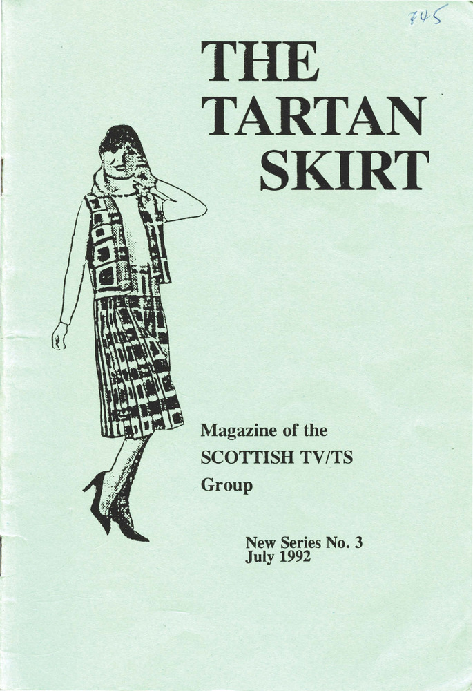Download the full-sized PDF of The Tartan Skirt: Magazine of the Scottish TV/TS Group No. 3 (July 1992)
