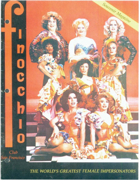 Download the full-sized image of Finocchio Club San Francisco: The World's Greatest Female Impersonators (1982)