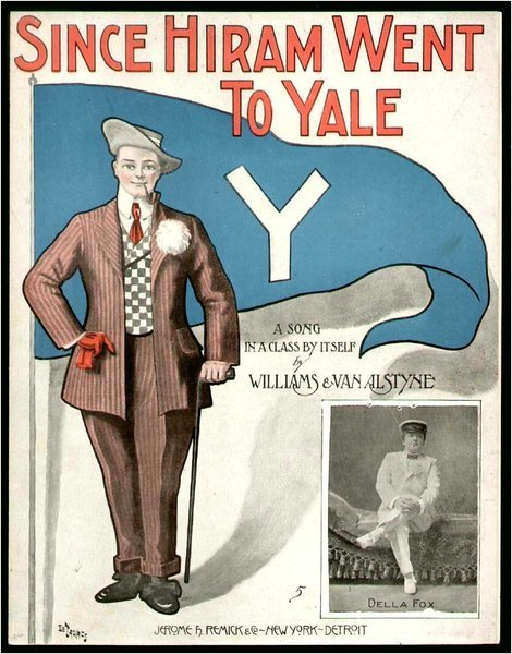 Download the full-sized image of Since Hiram Went To Yale