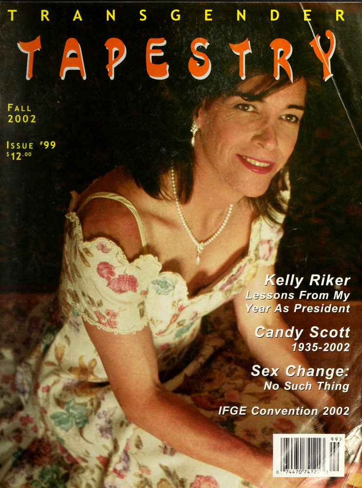 Download the full-sized image of Transgender Tapestry Issue 99 (Fall, 2002)