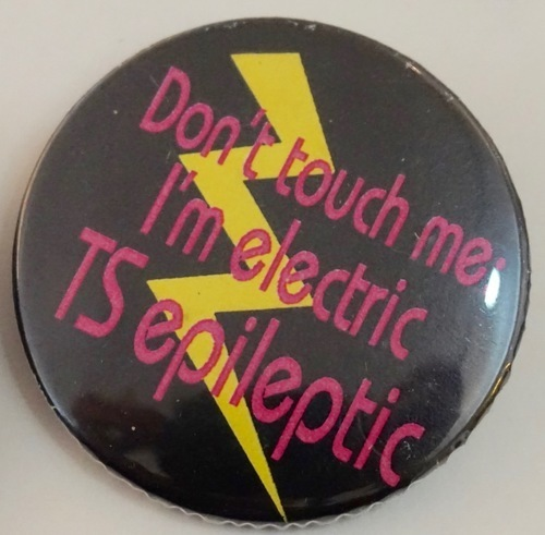 Download the full-sized image of Don't touch me I'm electric TS epileptic