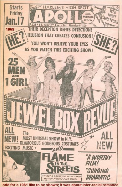 Download the full-sized image of Jewel Box Revue Advertisement (2)