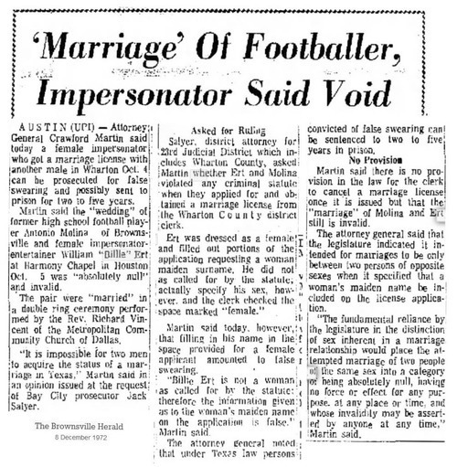 Download the full-sized image of 'Marriage' of Footballer, Impersonator Said Void