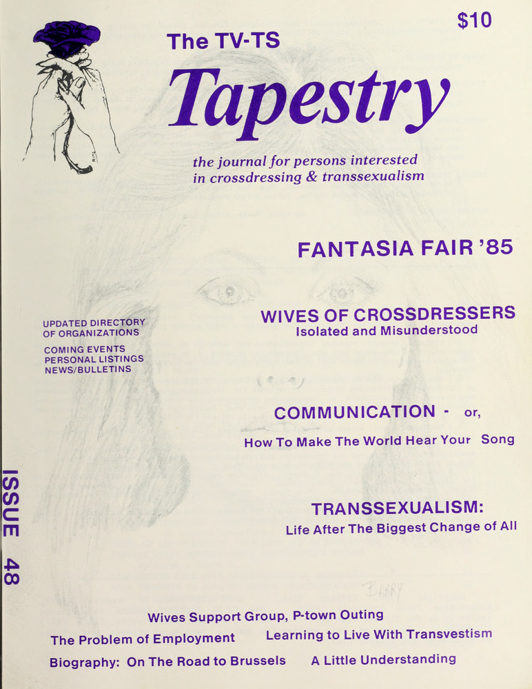 Download the full-sized image of The TV-TS Tapestry Issue 48 (1986)