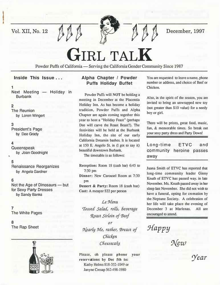 Download the full-sized PDF of Girl Talk, Vol. 12 No. 12 (December, 1997)