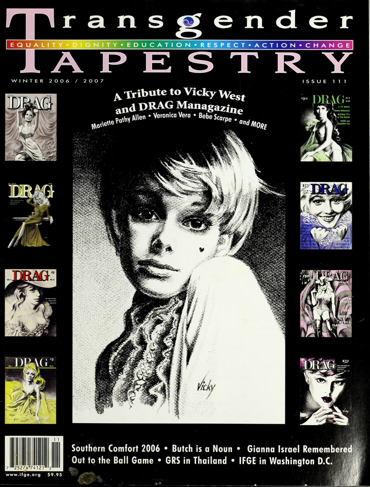 Download the full-sized image of Transgender Tapestry Issue 111 (Winter, 2006/2007)