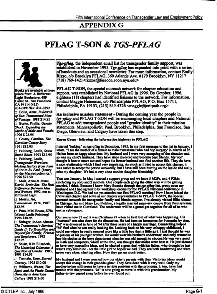 Download the full-sized PDF of Appendix G: PFLAG T-Son & TGS-PFLAG