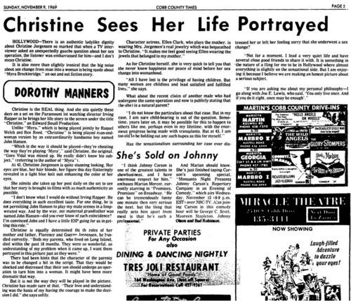 Download the full-sized image of Christine Sees Her Life Portrayed