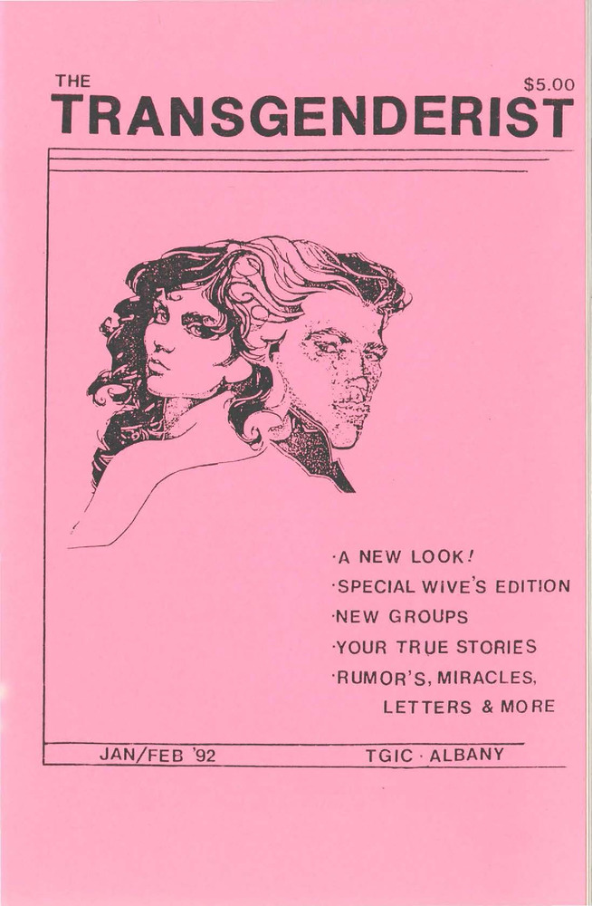 Download the full-sized PDF of The Transgenderist (January-February 1992)