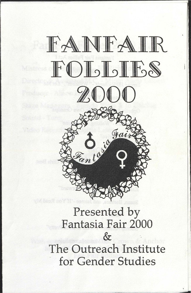 Download the full-sized PDF of Fanfair Follies 2000 Program