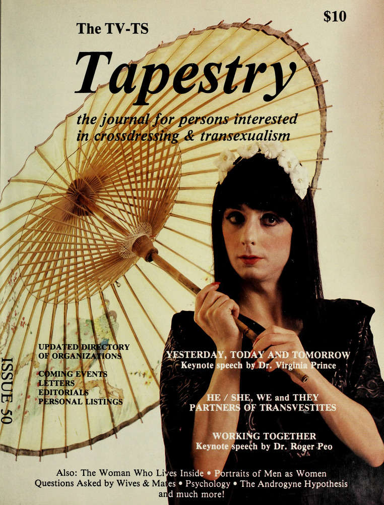 Download the full-sized image of The TV-TS Tapestry Issue 50 (1987)