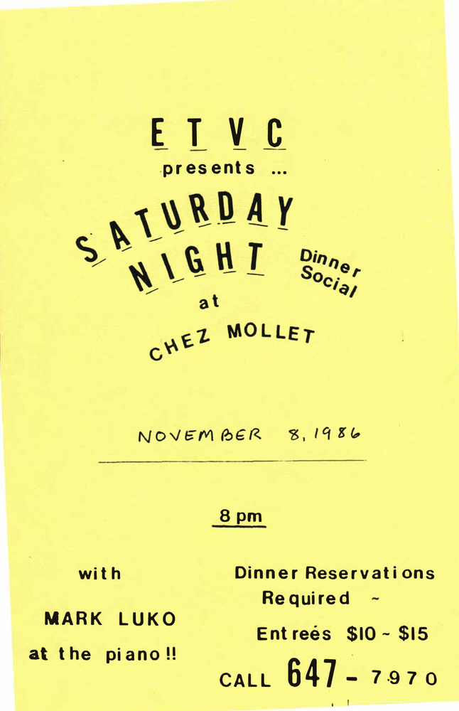 Download the full-sized PDF of ETVC Presents Saturday Night Dinner Social