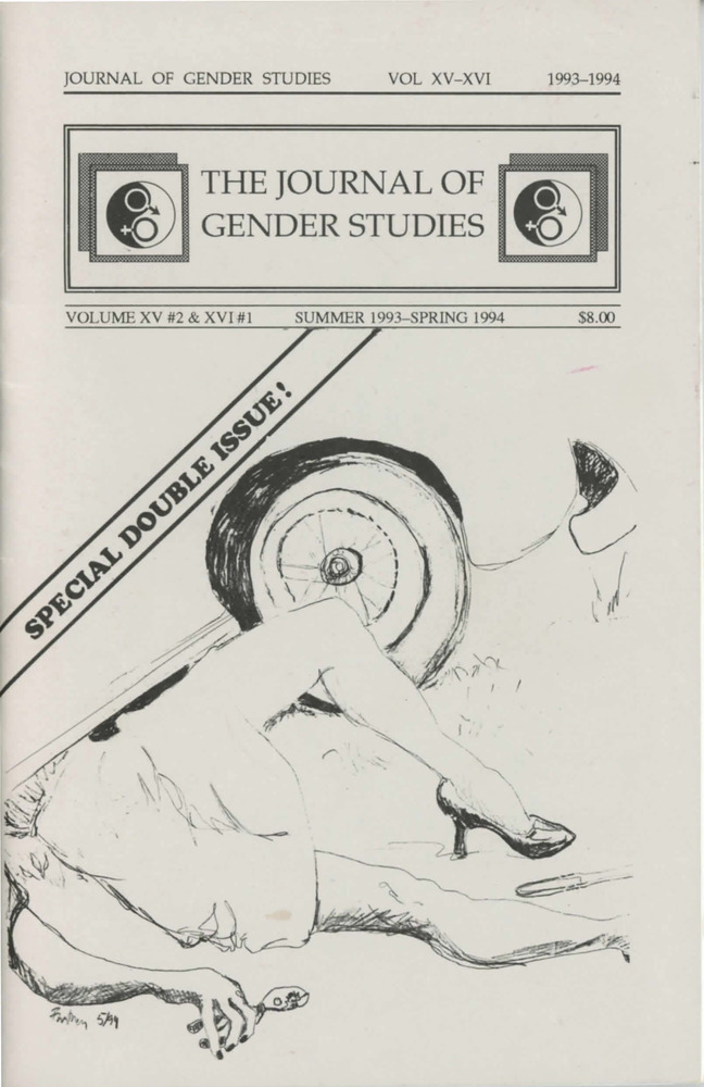 Download the full-sized PDF of The Journal of Gender Studies Vol. 15 No. 2 & Vol. 16 No. 1