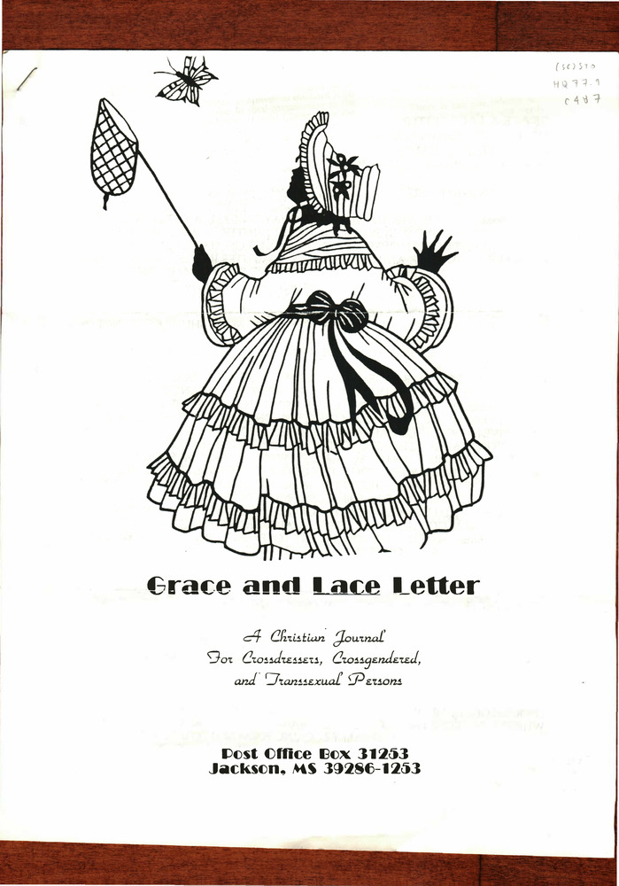 Download the full-sized PDF of Grace and Lace Letter Issue A