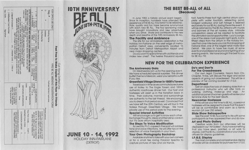 Download the full-sized PDF of 10th Annual Be All Weekend (Jun. 10-14, 1992)