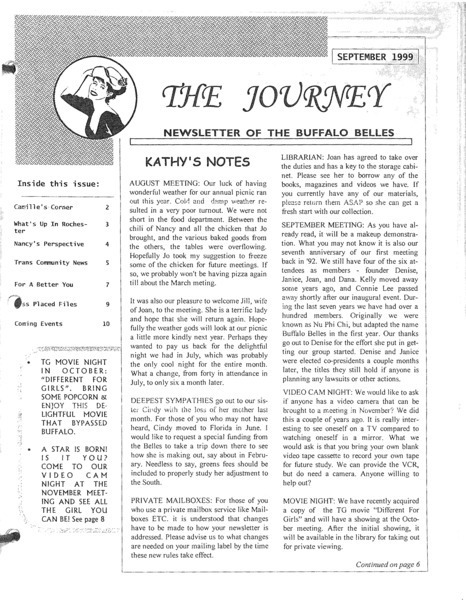 Download the full-sized image of The Journey Vol. 8 No. 9 (September, 1999)