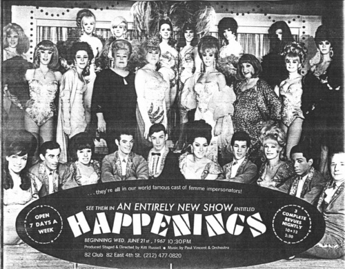 "Download the full-sized image of Advertisement for New Show ""Happenings"""