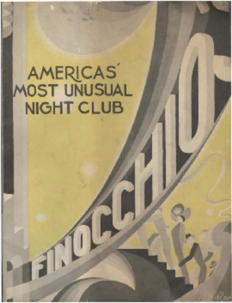 Download the full-sized image of America's Most Unusual Night Club Finocchio's