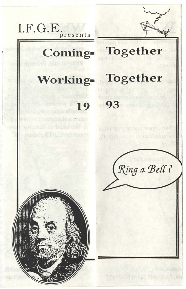 Download the full-sized PDF of Coming Together Working Together 1993
