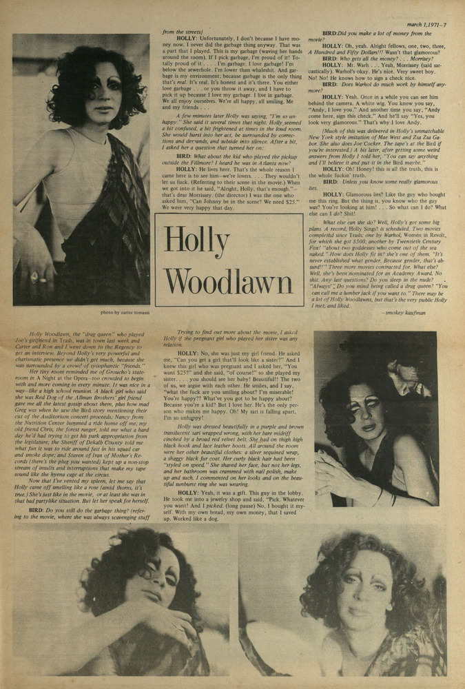 Download the full-sized image of Holly Woodlawn