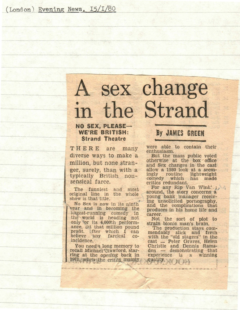 Download the full-sized PDF of A Sex Change in the Strand