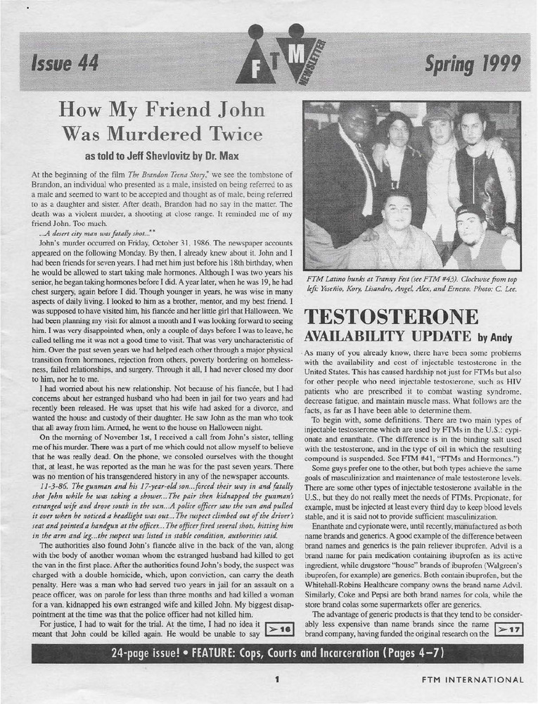 Download the full-sized PDF of The Transsexual Voice (April 1991)
