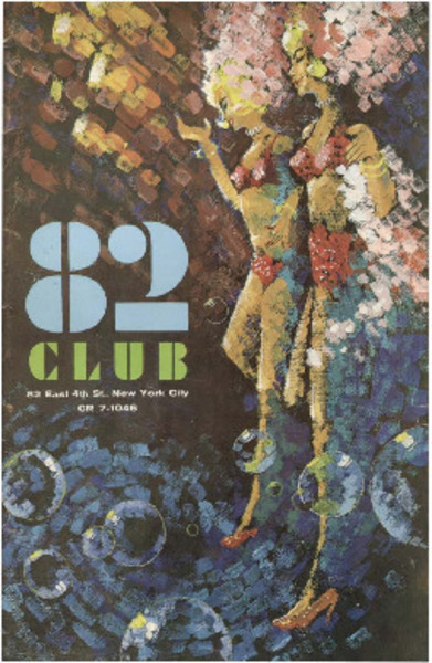 Download the full-sized image of 82 Club Program (1965)