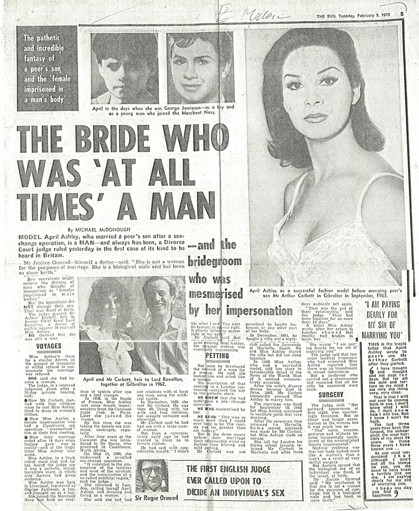Download the full-sized PDF of The Bride Who Was 'At All Times' a Man