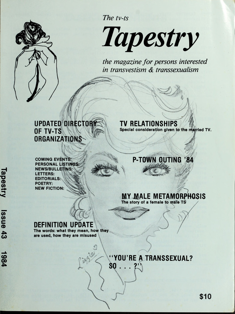 Download the full-sized image of The TV-TS Tapestry Issue 43 (1984)
