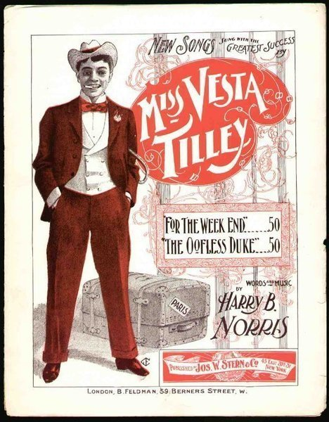 Download the full-sized image of Miss Vesta Tilley