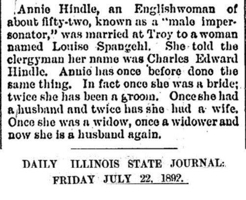 Download the full-sized image of Annie Hindle (Daily Illinois)