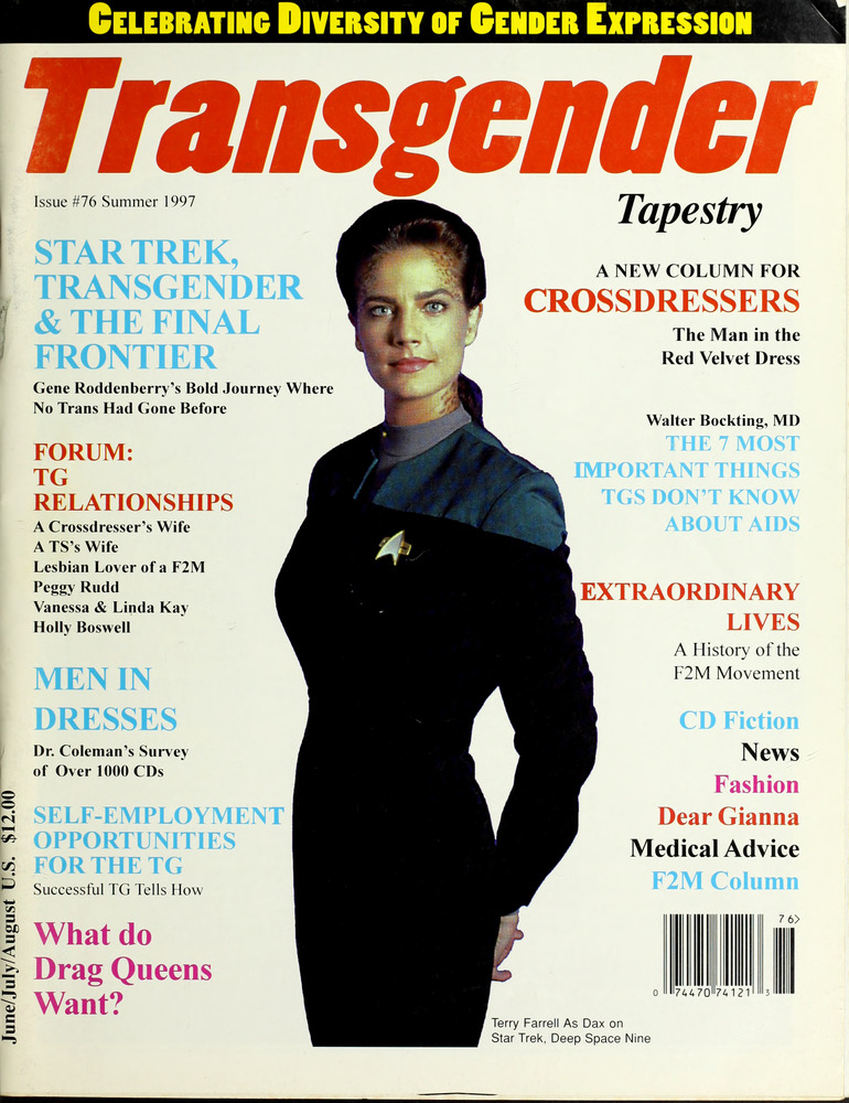 4a54adf02b8 Download the full-sized image of Transgender Tapestry Issue 76 (Summer