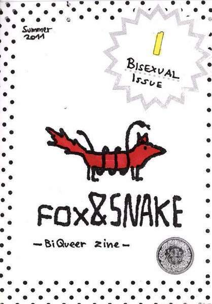 Download the full-sized image of FOX&SNAKE / Issue #1 Bisexual Issue