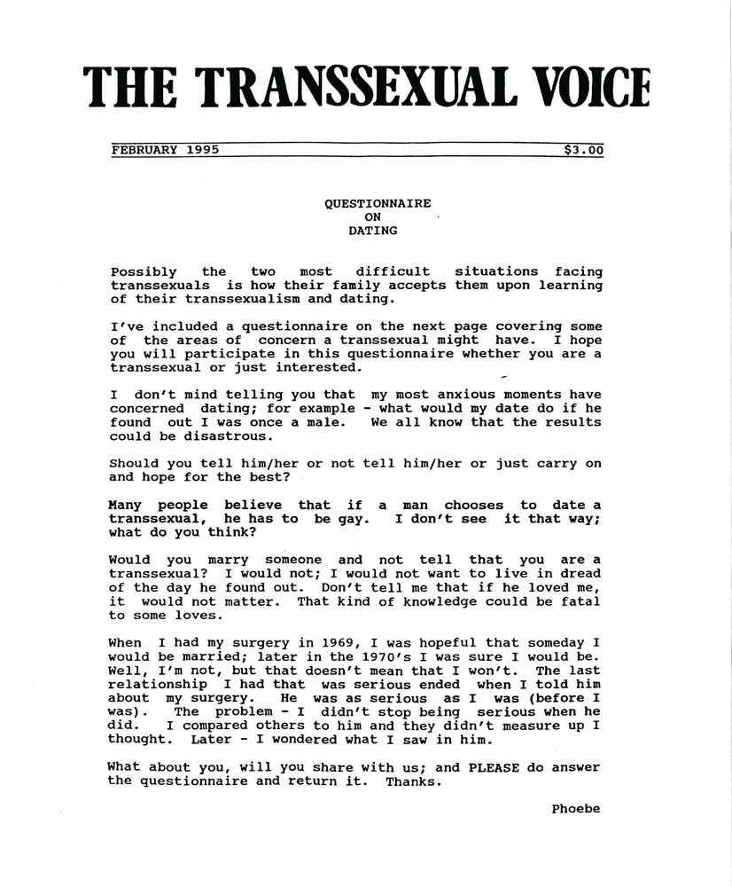 Download the full-sized PDF of The Transsexual Voice (February 1995)