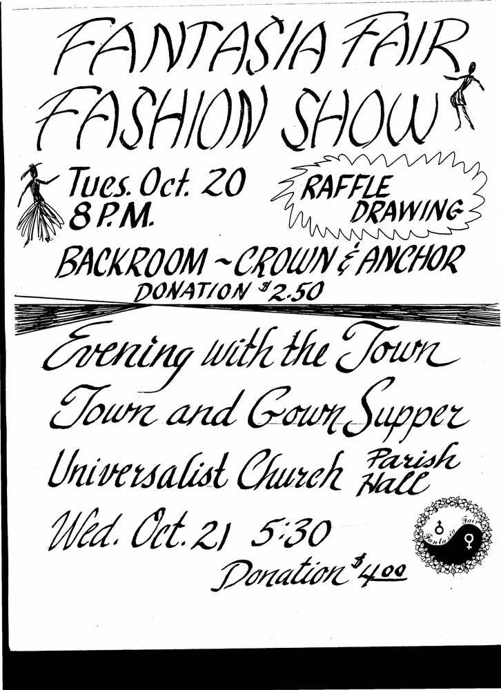 Download the full-sized PDF of Fantasia Fair Fashion Show Advertisement (Oct. 20)
