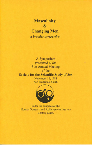 Masculinity and Changing Men: A Broader Perspective