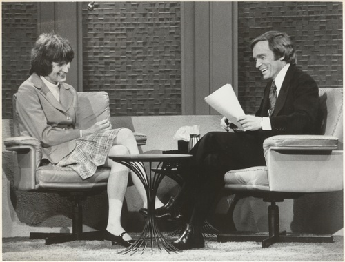 Download the full-sized image of Jan Morris on the Dick Cavett Show (May 16, 1974)