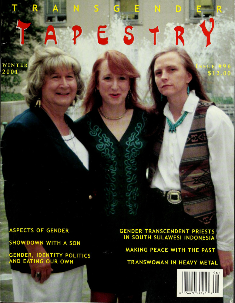 Download the full-sized image of Transgender Tapestry Issue 96 (Winter, 2001)