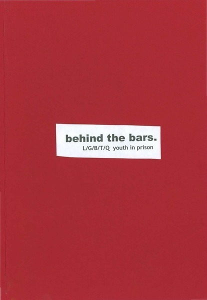 Download the full-sized image of behind the bars. L/G/B/T/Q youth in prison