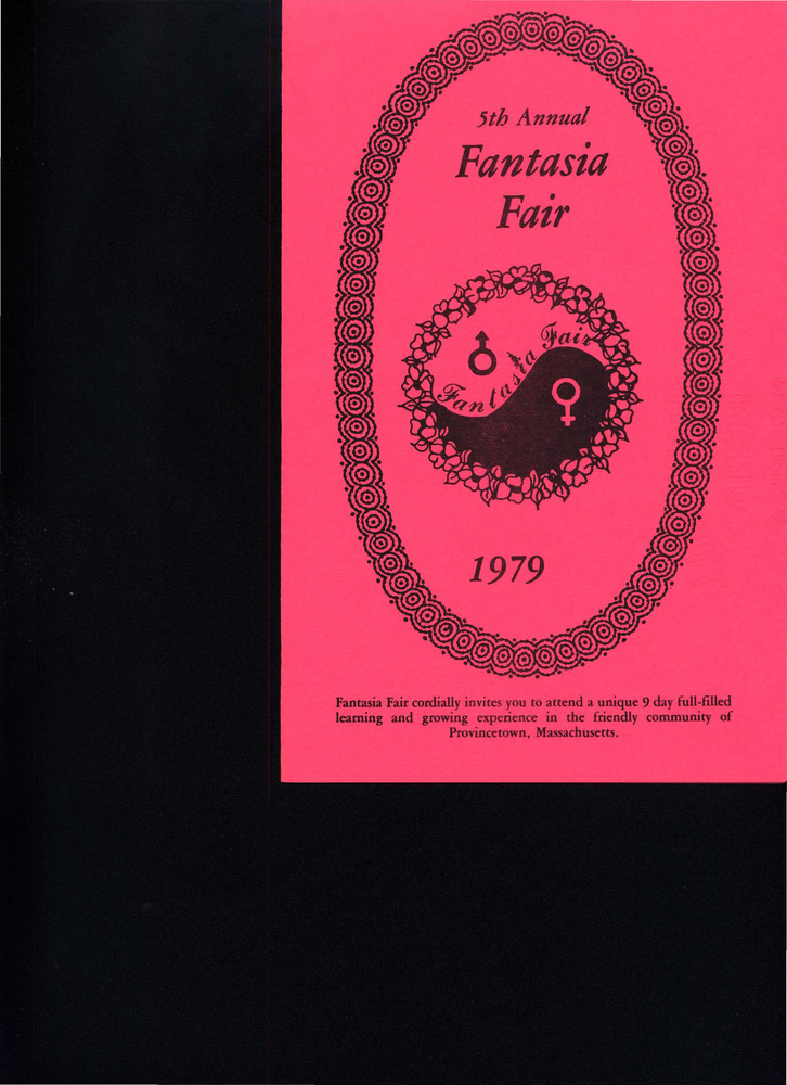 Download the full-sized PDF of 5th Annual Fantasia Fair Brochure (Oct. 12 - 21, 1979)