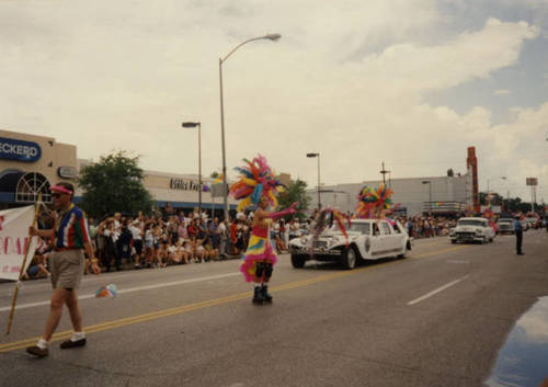 Download the full-sized image of Houston Gay Pride parade