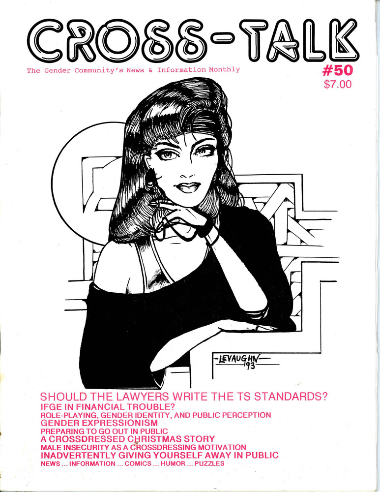 Download the full-sized PDF of Cross-Talk: The Gender Community's News & Information Monthly, No. 50 (December, 1993)