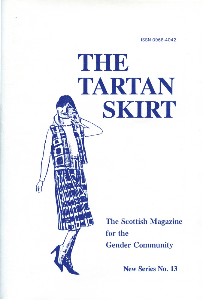 Download the full-sized PDF of The Tartan Skirt: The Scottish Magazine for the Gender Community No. 13 (January 1995)
