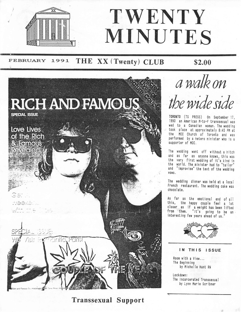 Download the full-sized PDF of Twenty Minutes (February, 1991)