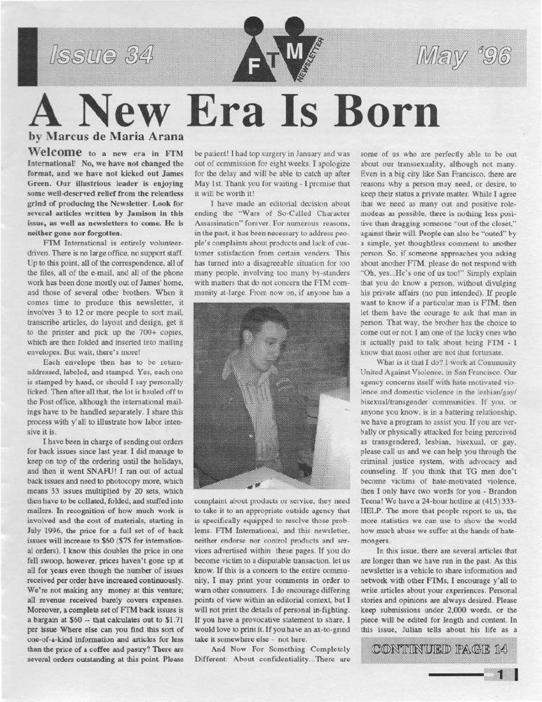 Download the full-sized PDF of Cross-Talk: The Gender Community's News & Information Monthly, No. 59 (September, 1994)