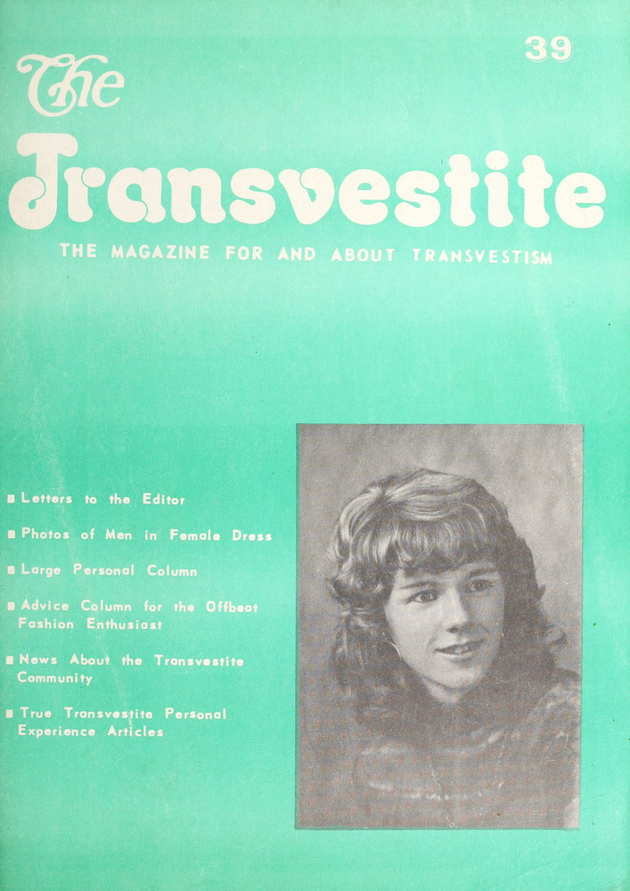 Download the full-sized image of The Transvestite: the Magazine for and about Transvestism Vol. 4
