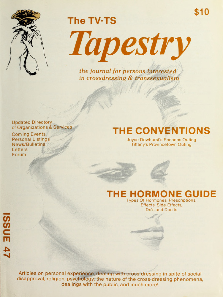 Download the full-sized image of The TV-TS Tapestry Issue 47 (1985)