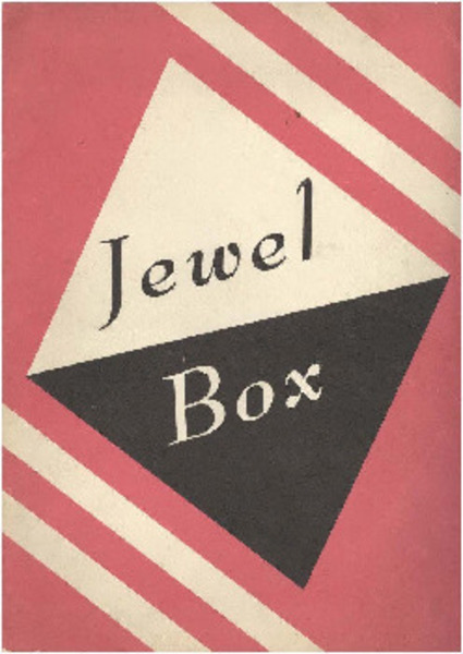Download the full-sized image of Jewel Box Revue Program