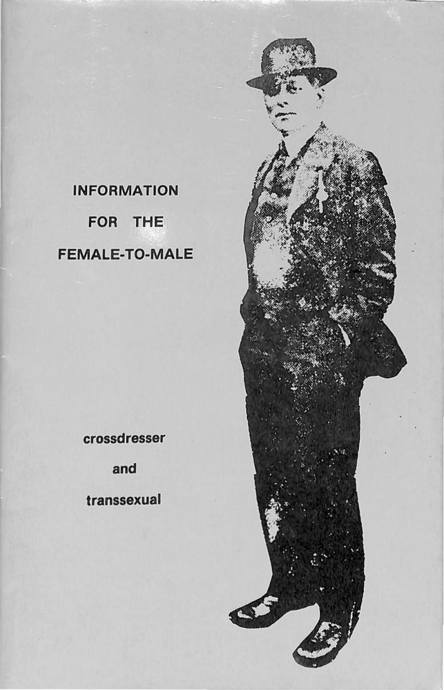 Download the full-sized PDF of Information for the Female-to-Male Crossdresser and Transsexual